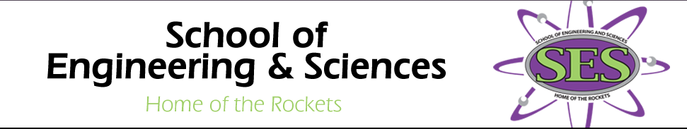 header for School of Engineering and Sciences