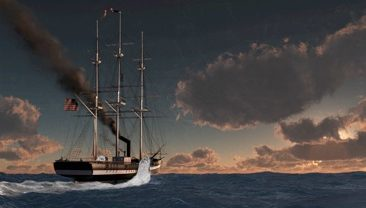 Steam Coffin: Steamships from a Chemist's Perspective