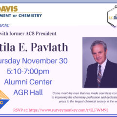 Dinner with Former ACS President Attila Pavlath
