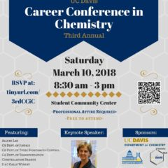 3rd Annual Career Conference in Chemistry at UC Davis