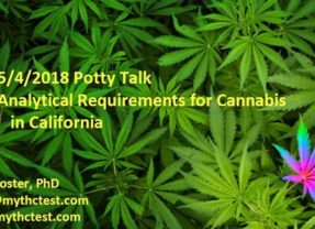 Potty Talk: California Cannabis Chemistry