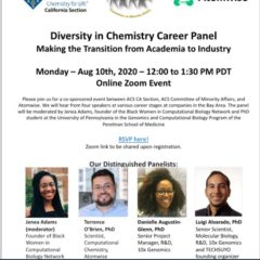 Diversity in Chemistry Career Panel