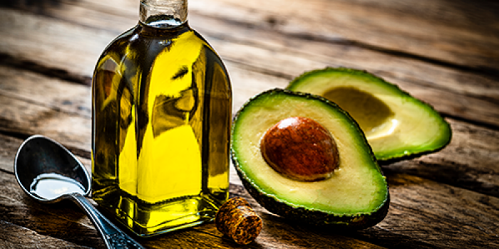 olive oil and avocado