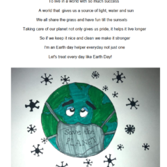 Local Earth Day Illustrated Poem Winner